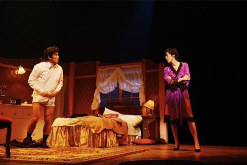 内野聖陽 寺島しのぶ 舞台「禁断の裸体」