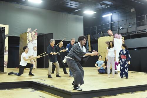 歌劇「フィガロの結婚」稽古場写真