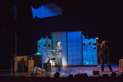 舞台「障子の国のティンカーベル」舞台写真
