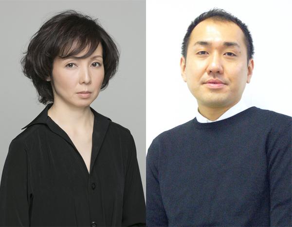 左から那須佐代子・上村聡史