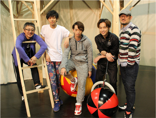 中島らも幻の戯曲上演!演出のG2、出演の松尾貴史、池田純矢、鈴木勝吾、井澤勇貴にインタビュー!