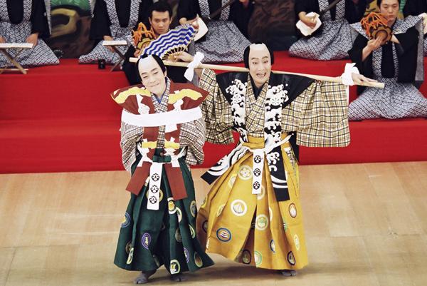 シネマ歌舞伎「喜撰/棒しばり」