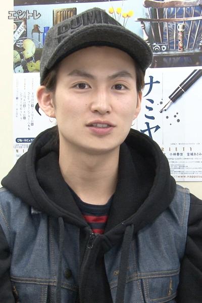 舞台「ナミヤ雑貨店の奇蹟」に出演する松田凌