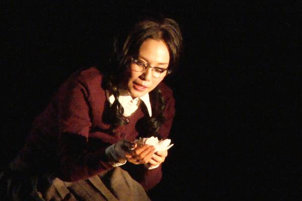 中谷美紀 舞台「猟銃」ゲネプロレポート