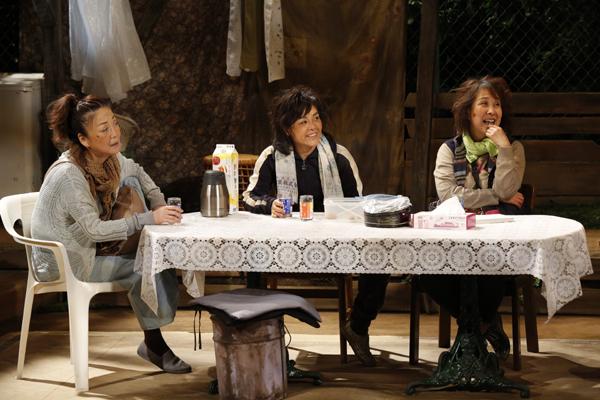 テアトル・エコー「淑女はここにいる」舞台写真