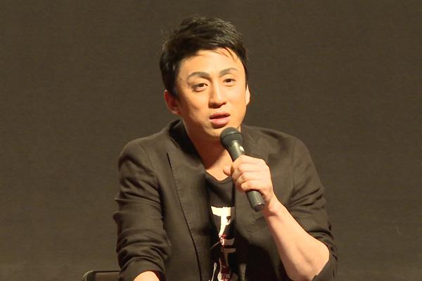 シネマ歌舞伎「阿弖流為」初日舞台挨拶の市川染五郎