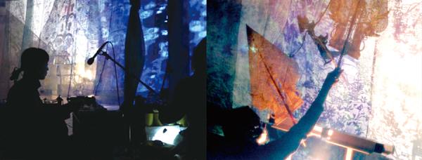 影絵芝居「夜叉ヶ池」