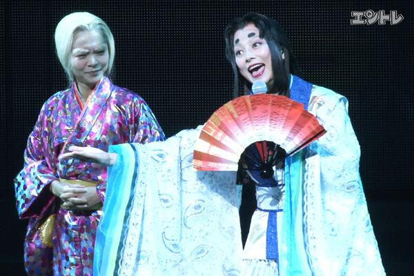 かぐや姫を演じる小池栄子