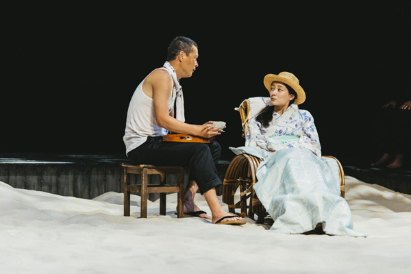 葛河思潮社 第5回公演『浮標』舞台写真