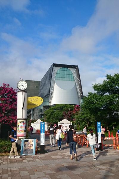 東静岡駅を降りたところ