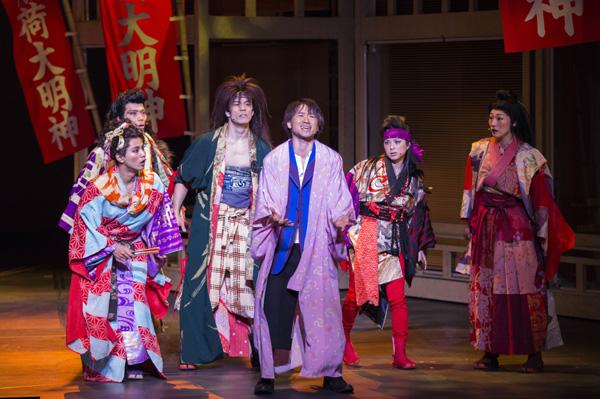 「DNA SHARAKU」舞台写真
