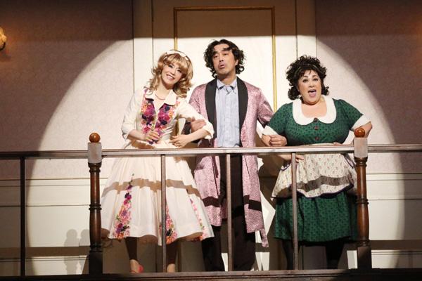 舞台「一人二役」舞台写真