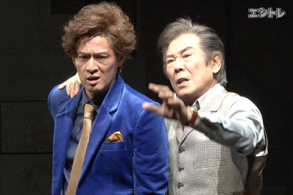 舞台「スルース」新納慎也と西岡德馬