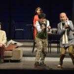直人と倉持の会 舞台「磁場」舞台写真 撮影:柴田和彦