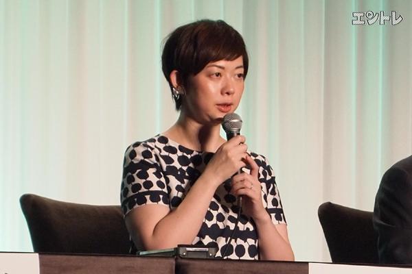 「幕末太陽傳」演出を務める小柳奈穂子