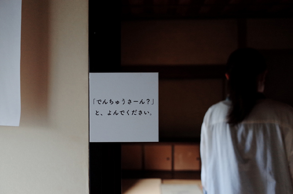 「でんちゅうさーん?はーい!」記録写真|撮影:今井貴宏