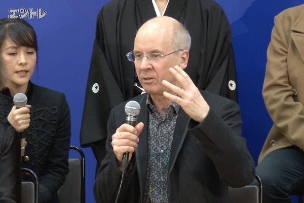 【動画14分】ジョン・ケアードの「ハムレット」論!