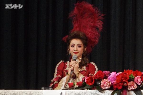 宝塚星組「スカーレット ピンパーネル」制作発表より綺咲愛里