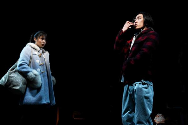 舞台「世界」より 撮影:細野晋司