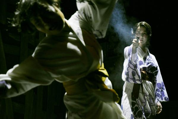 舞台「お勢登場」舞台写真 撮影:細野晋司