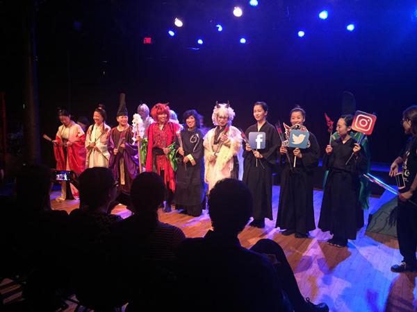 ミュージカル「The Legend of Oni」ニューヨーク公演 舞台写真