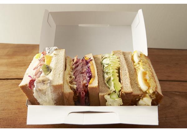 プレゼント用のサンドイッチ