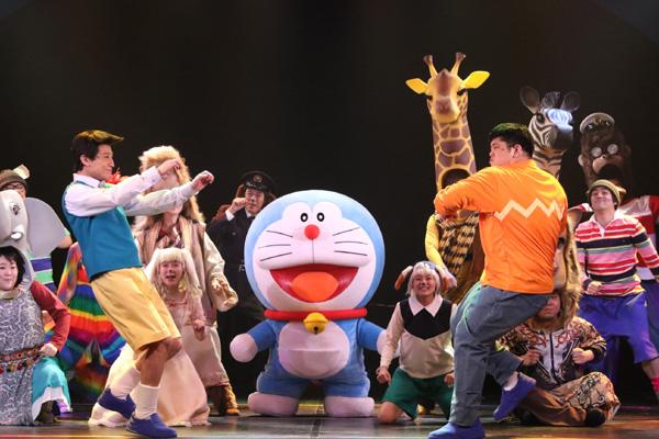 舞台版ドラえもん「のび太とアニマル惑星(プラネット)」(c)Fujiko-Pro