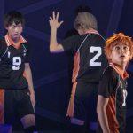 ハイパープロジェクション演劇「ハイキュー!!」左から木村達成 、猪野広樹、須賀健太