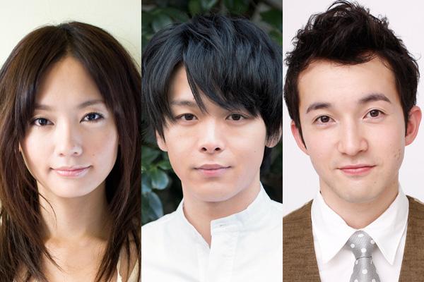 舞台「怒りをこめてふり返れ」左から中村ゆり、中村倫也、浅利陽介
