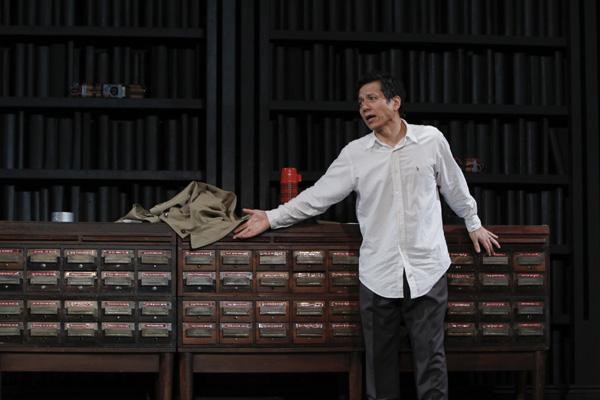 舞台「ディファイルド」出演の勝村政信 撮影:岡千里