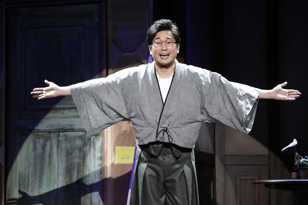 舞台「リメンバーミー」舞台写真 山崎樹範