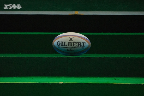 ラグビーボールの形が正確な球体でないことは知っていたが、改めてその形を見るとやはりヘンテコだ。