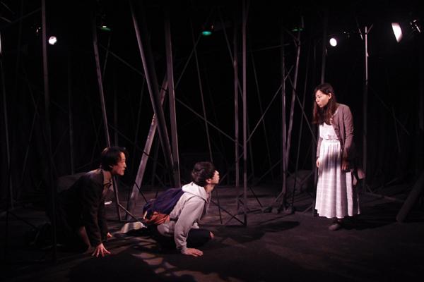 コトリ会議「あ、カッコンの竹」名古屋公演 舞台写真