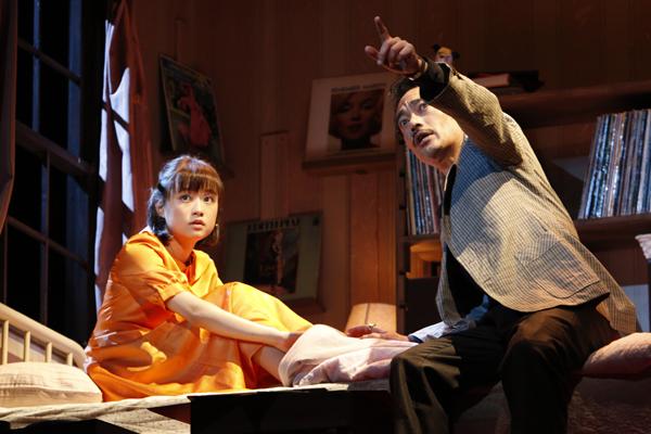舞台「Little Voice(リトル・ヴォイス)」大原櫻子、高橋和也 撮影:渡部孝弘