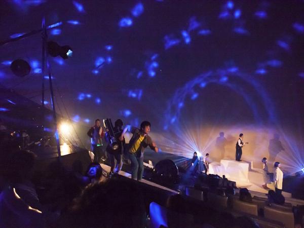 劇団☆流星群 過去のプラネタリウム演劇の舞台写真