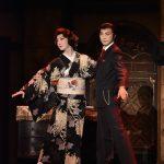 花形新派公演「黒蜥蜴」明智小五郎・喜多村緑郎、黒蜥蜴・河合雪之丞