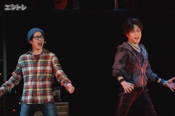 ミュージカル「RENT」村井良大、堂珍嘉邦