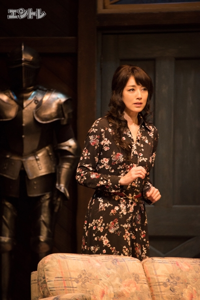 「デストラップ」劇作家の妻を演じる高岡早紀