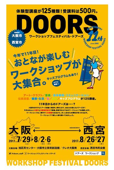 ワークショップフェスティバル「DOORS」