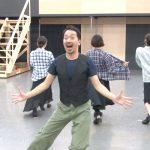 ミュージカル「パジャマゲーム」公開稽古より 栗原英雄
