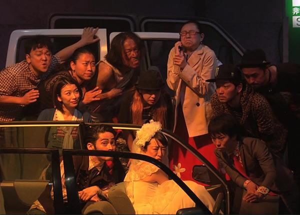2015年上演の「大渋滞」舞台写真