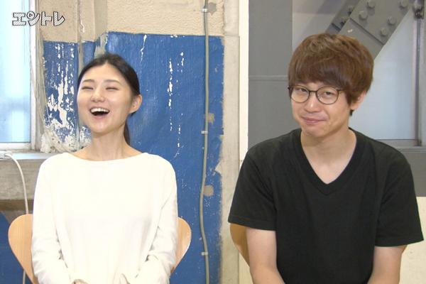 神保町花月500回公演「ひとしずく」児玉絹世、小林良行(ランパンプス)