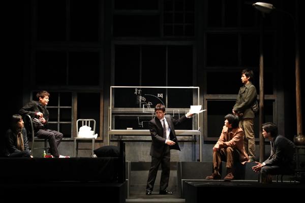 舞台「関数ドミノ」舞台写真