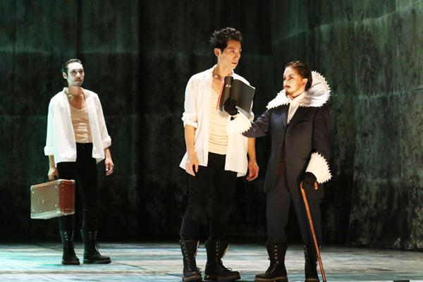 舞台「リチャード三世」佐々木蔵之介 撮影:田中亜紀