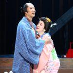 舞台「近松心中物語」堤真一、宮沢りえ 撮影:宮川舞子