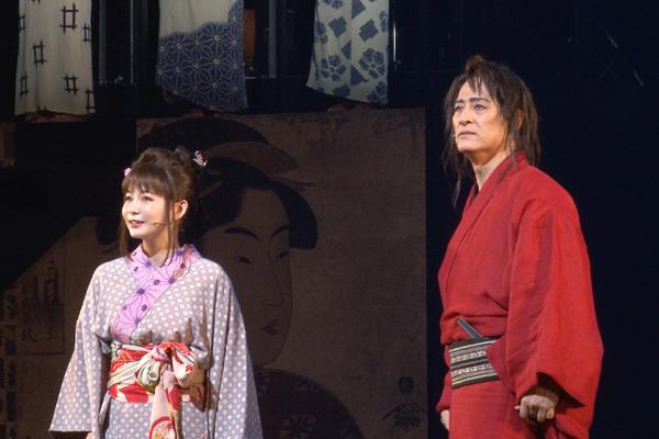 橋本さとし×中川翔子「戯伝写楽」開幕!