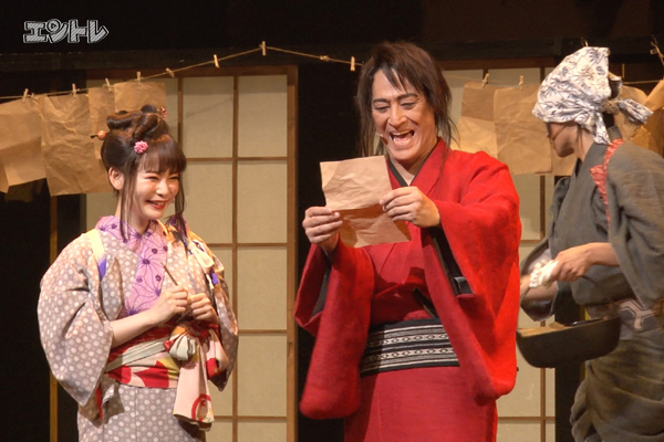 ジャパニーズ・ミュージカル「戯伝写楽2018」橋本さとし、中川翔子