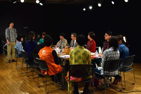 北区民と演劇を作るプロジェクト「未開の議場」