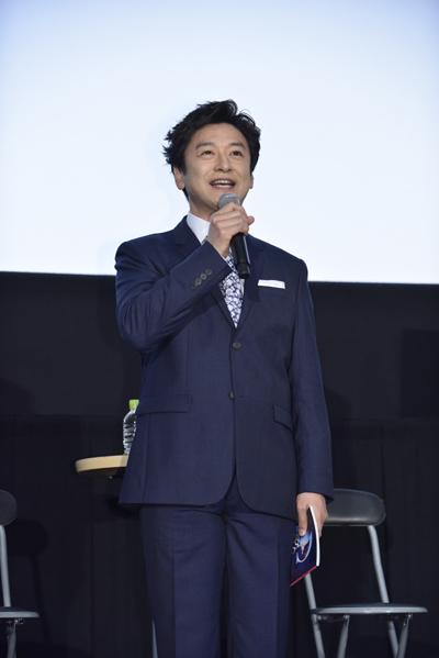METライブビューイング「トスカ」上映前イベントに登壇した石丸幹二