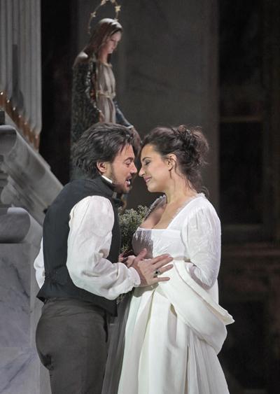 METライブビューイング「トスカ」(c) Ken Howard/Metropolitan Opera